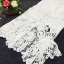 Sevy Two Pieces Of Valentino Vintage Lace Crop Blouse With Midi Lace Skirt Suit Sets thumbnail 6