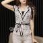 Seoul Secret Say's... Lacely Nood Color Black Rim Set Bow Waist thumbnail 3