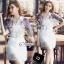 Sevy Make Up Stylish Women Organza Mini Dress(+Lining) thumbnail 7