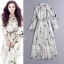 Sevy Forest Shirt Style Longe Sleeve Maxi Dress thumbnail 1