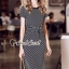 Seoul Secret Say's... Chic Lacely Rear Stripy Dress thumbnail 1