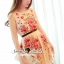Seoul Secret Say's... Rosy Pink Red Blossom Stickly Netty Maxi Dress thumbnail 6