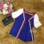 Sevy Sport Girl Knit V-Nack Zipper Front T-Shirt thumbnail 8