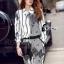 Cliona made' Black Hawks Sportswear Long Sleeves Top + Pant Set thumbnail 3