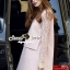 Seoul Secret Say's... Pastel Salmon Pink Girly Dress Outer Set thumbnail 4