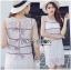 &#x1F380 Lady Ribbon's Made &#x1F380 Lady Kate Sporty Sweet White Lace Dress thumbnail 4