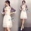 Sevy Make Up Stylish Women Organza Mini Dress(+Lining) thumbnail 2
