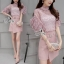 Sevy Two Pieces Of Blouse Lace With Skirt (Sets) thumbnail 1