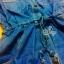 Sevy Long Sleeve Golden Peg Shirt Style Denim Mini Dress thumbnail 8