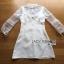 &#x1F380 Lady Ribbon's Made &#x1F380 Lady Hannah Little Princess Pure White Lace and Polyester Mini Dress thumbnail 5