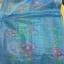 ม่านประตูกันยุงไซส์พิเศษ ขนาด 120x210 ซม. รุ่นเกรดเอ สีฟ้า พิมพ์ลายดอกไม้ thumbnail 2