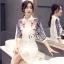 Sevy Make Up Stylish Women Organza Mini Dress(+Lining) thumbnail 8