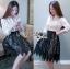 &#x1F380 Lady Ribbon's Made &#x1F380 Lady Emma Classic Vintage White Lace Shirt thumbnail 2