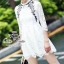 Lavender embroidery lace dress Odee&Cutie Daily Fashion thumbnail 1