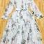 Sevy Forest Shirt Style Longe Sleeve Maxi Dress thumbnail 3