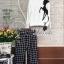 Korea Design By Lavida deer black and white striped jumper set thumbnail 7