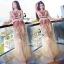 Sevy Princess Diary Flora Sleeveless See-through Maxi Dress thumbnail 2