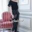 Seoul Secret Say's... Letterly Lace Line Cami Stripr Set thumbnail 5