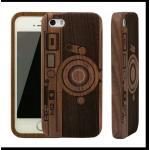 เคสไอโฟน7 เคสวัสดุทำจากไม้แท้ walnut รูปกล้อง