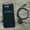 เคส huawei p10 ซิลิโคนการ์ตูนเจ้าแมวหนาวยาว