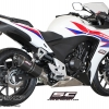 ท่อSC Project OVAL SILENCER FOR CBR500R