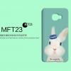 เคส samsung c9 pro พลาสติกลายกระต่ายน่ารัก
