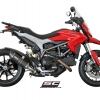 ท่อ SC PROJECT OVAL SILENCER - LOW POSITION FOR HYPERMOTARD 821
