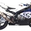 ท่อ AUSTIN RACING GP2 ARCS DECAT WITH GP2 TITANIUM CAN FOR BMW S1000RR&HP4 (2010-2014)