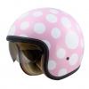 หมวกกันน็อค Bilmola Voyager Polka Dot Pink