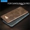 เคส samsung c9 pro เคสฝาหนังpuคุณภาพดี