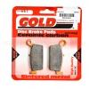 ผ้าเบรกหลัง GOLD FREN FOR KAWASAKI D-TRACKER