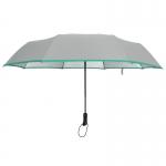 Ultra Size UV Cut Auto Umbrella ร่มออโต้ กันuv เคลือบเงินขนาดใหญ่ - เทา