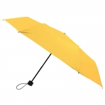 Silver Coating Folding Umbrella ร่มพับ3ตอนเคลือบเงินป้องกันรังสียูวี-เหลือง
