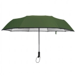 Ultra Size UV Cut Auto Umbrella ร่มออโต้ กันuv เคลือบเงินขนาดใหญ่ - เขียว