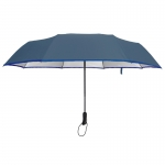 Ultra Size UV Cut Auto Umbrella ร่มออโต้ กันuv เคลือบเงินขนาดใหญ่ - น้ำเงิน
