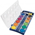 สีน้ำ Pelikan Opauqe Paint Box 12 Colors