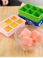 ถาดซิลิโคน เก็บอาหารเด็กแช่แข็ง 6 หลุม