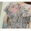 ชุดคลุมท้องแฟชั่น ผ้าชีฟองลายลูกไม้ค่ะ thumbnail 7