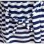 เสื้อคลุมท้อง เอี๊ยมเย็บติด สีขาวกรมท่า เนื้อผ้านุ่มมาก thumbnail 5