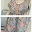 ชุดคลุมท้องแฟชั่น ผ้าชีฟองลายลูกไม้ค่ะ thumbnail 6