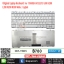 Keyboard TOSHIBA SATELLITE A300 A200 L200 M200 M300 สีขาว thumbnail 1