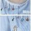 เสื้อคลุมท้องแฟชั่น สีฟ้า thumbnail 6