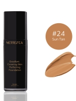 Merrez'ca Excellent Covering Skin Perfecting Foundation #24 Sun Tan