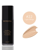 Merrez'ca Excellent Covering Skin Perfecting Foundation #22 Light Beige