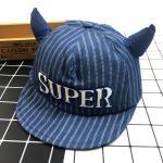 หมวกเด็ก พรีเมี่ยม แก๊ปยีนส์ Super (กลาง)