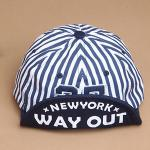 หมวกแก๊ปเกาหลี AH เบสบอล Way Out สีน้ำเงิน