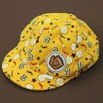 หมวกเด็ก แก๊ป ถุงมือเบสบอล (เหลือง)