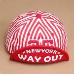 หมวกแก๊ปเกาหลี AH เบสบอล Way Out สีแดง
