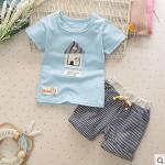 Baby Touch เสื้อยืดและกางเกง เกาหลี (บ้านฟ้า)