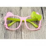 แว่นเด็ก แฟนซี คิตตี้ ชมพู-เขียว
